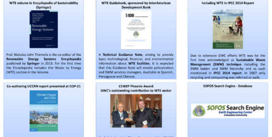 Global WTERT Council (GWC) Recent Achievements