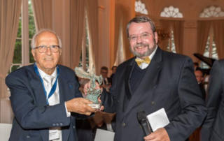 Themelis receives CEWEP Phoenix Award