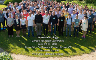 2016 Gordon Conference on Industrial Ecology